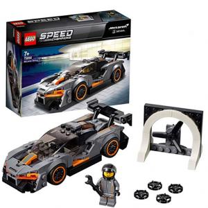 £6.49 For LEGO 75892 Speed Champions McLaren Senna Building Kit, Colourful @Amazon UK