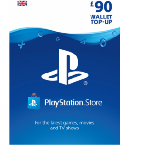 PlayStation Wallet Top Up £90 now £78.85 @ShopTo