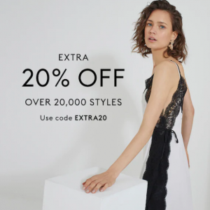 Over 20,000 Clothing & Accessories Sale @ THE OUTNET