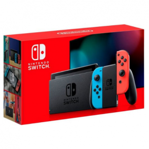 Nintendo Switch with Gray Joy‑Con - HAC-001(-01) @ Amazon