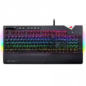 ASUS ROG Strix Flare Cherry MX RGB机械键盘 @ Amazon