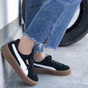 Suede Platform Core Women's Sneakers @ PUMA