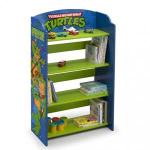 Teenage Mutant Ninja Turtles Wood Bookshelf by Delta Children @ Walmart