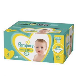 Pampers Swaddlers Disposable Baby Diapers Sale @ Amazon