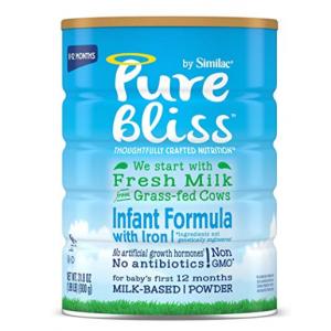 Pure Bliss by Similac 非转基因婴儿含铁配方奶粉特惠 @ Amazon