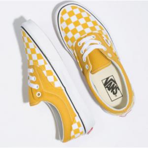 VANS Checkerboard Era Yolk Yellow Womens Shoes Sale @Tilly's