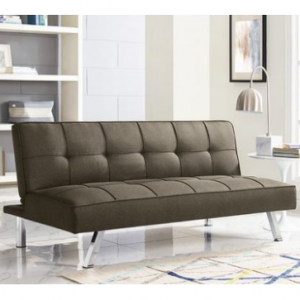 Serta Chelsea Convertible Sofa Futon, Multiple Colors @Walmart
