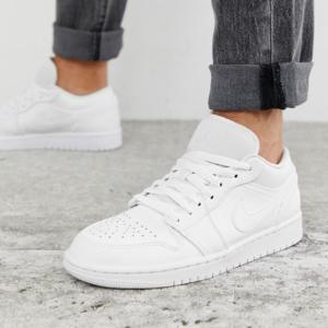 Nike Air Jordan Low Trainers In White @ ASOS Asia