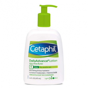 Cetaphil Daily Advance Ultra Hydrating Lotion With Shea Butter 16floz @ Amazon