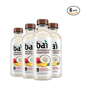 Bai 芒果口味果汁调味水 18oz 6瓶 @Amazon