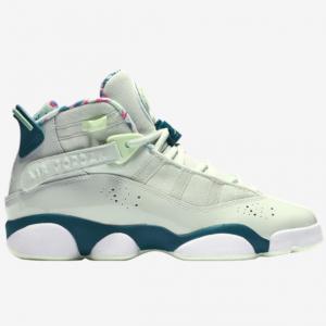 Eastbay官网 Jordan乔丹6 Rings大童款薄荷绿篮球鞋热卖