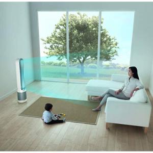 Dyson Pure Cool TP01 空气净化冷风扇 带HEPA 白色/银色 @Amazon