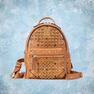 50% OFF MCM Diamond Visetos Mini Backpack @Jomashop