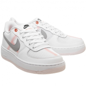 Nike Air Force 1 Trainers White Atmosphere Grey @ Office UK