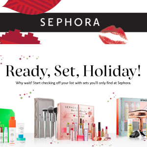 2019 Holiday Collection & Value Sets @ Sephora