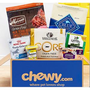 Chewy 宠物服饰、零食、用品、宠物处方粮等大促热卖