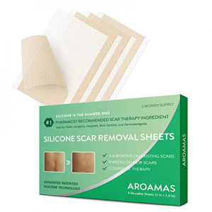 Aroamas 專業祛疤凝膠貼 4張 可用2個月