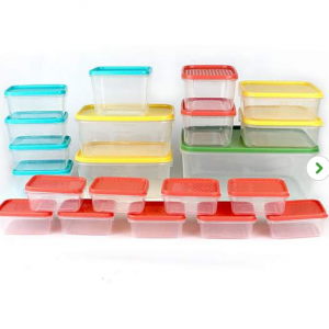 21 Piece BPA Free Plastic Food Storage Containers for £5 @Dunelm
