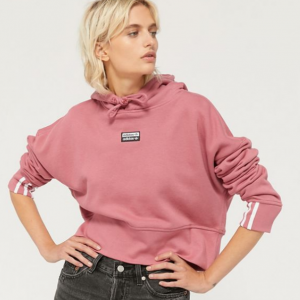 adidas Vocal Cropped Hoodie Sweatshirt @ Urban Outfitters