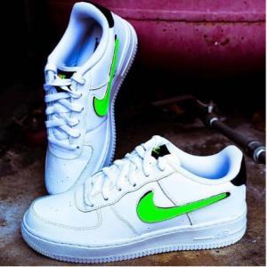 Finish Line官网 Nike Air Force 1 LV8 1空军一号3 Casual大童款休闲鞋热卖