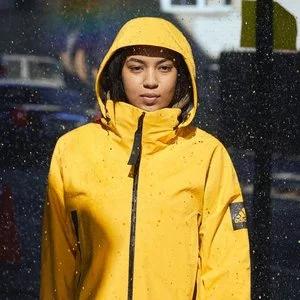 adidas Women's Outdoor Myshelter Rain Jacket @adidas