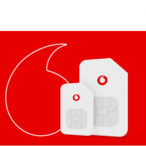 Receive a £100 Gift Card with Vodafone's 5GB Red SIM only plan for £15p/m