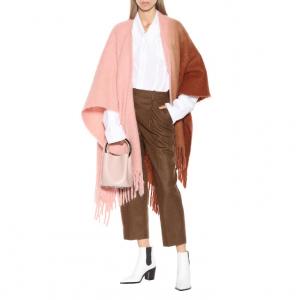 40% off ACNE STUDIOS Kelow alpaca and wool-blend poncho @Mytheresa