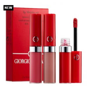 Sephora上新!GIORGIO ARMANI阿玛尼红管丝绒唇釉3支迷你套装