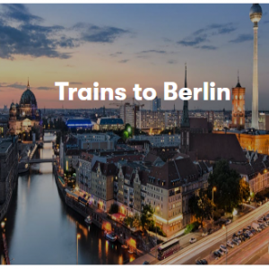 Trains in Germany From £4 @Omio