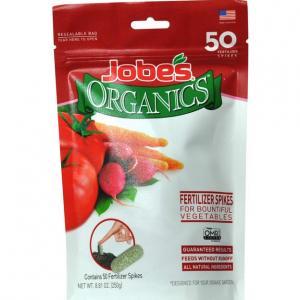 50-Ct Jobe's Organics Vegetable & Tomato Fertilizer Spikes for $2.62 @Amazon