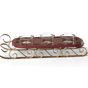 49% off Lenox 887032 Holiday Sled Votive Holder @Amazon