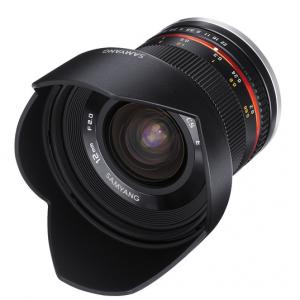 $140 Off Samyang 12mm f/2.0 NCS CS Lens for Sony E-Mount (APS-C) (Black) @B&H Photo Video
