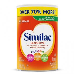 Similac Sensitive Infant Formula with Iron (40 oz.) @ Sam's Club