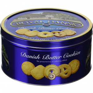 Royal Dansk Danish Butter Cookies, 1.5 pounds @ Amazon