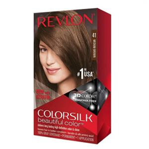 Revlon  露華濃染發膏41號色 @Amazon,巧克力棕色
