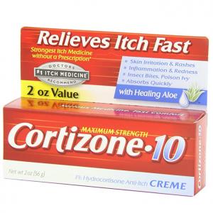 Cortizone-10 Maximum Strength, 2 Ounce Box @ Amazon