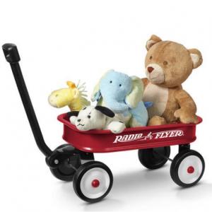 Radio Flyer 兒童玩具拖車,紅色 @ Walmart