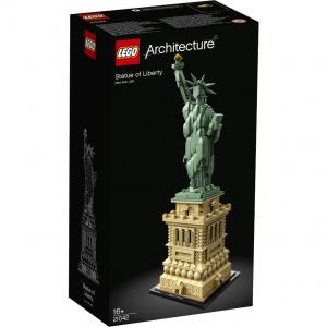 LEGO Architecture乐高建筑系列:自由女神 (21042) (1685 颗) @ Zavvi