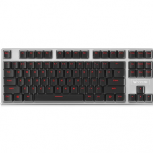 Rapoo V500 87 - key game mechanic keyboard Black Alloy edition @JoyBuy