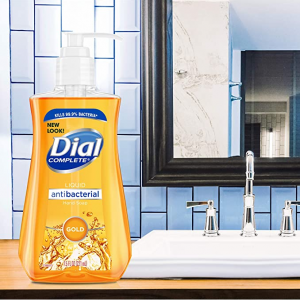 Dial Antibacterial Liquid Hand Soap, Gold, 7.5 Ounce @ Amazon