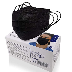 MSAAEX 50 Pcs Disposable 4-ply Non-Woven Face Mask (Adult) @ Amazon