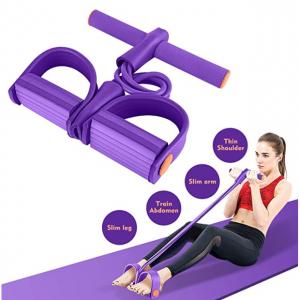 Hestya 蹬拉力器普拉提器材瑜伽家用健身瘦肚子女运动多功能弹力绳 @ Amazon