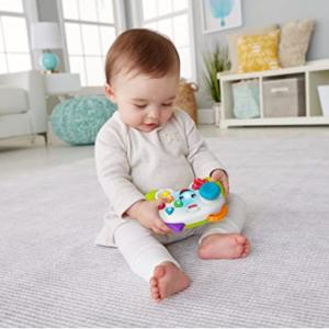 Fisher-Price 婴幼儿游戏手柄款早教学习机 @ Amazon