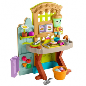 Fisher-Price 兒童小花園+小廚房玩具套裝 @ Amazon