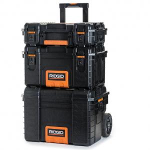 Ridgid 3 pc Pro Tool Chest Combo @ Home Depot