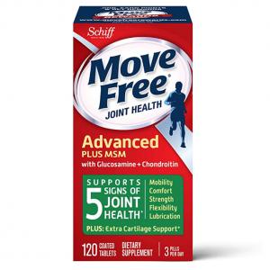 Move Free MSM 綠瓶維骨力 關節止痛款 120粒 @ Amazon