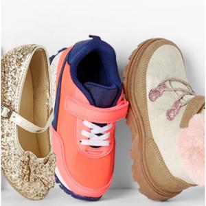 Cyber Deals! Shop $4+ Tees, $12 Shoes, $16 Boots Doorbusters @ Carter's
