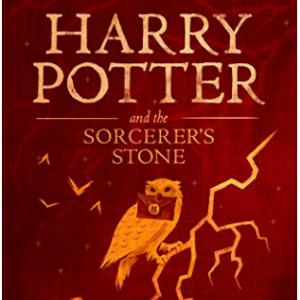 Amazon - 哈利波特与魔法石 Kindle版,原价$9.99