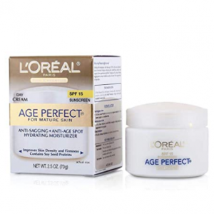 L'Oreal Paris Age Perfect Anti-Aging Day Cream SPF 15 2.5 Oz @ Amazon