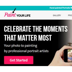 PaintYourLife 大促,照片到手绘艺术,最特别的礼物